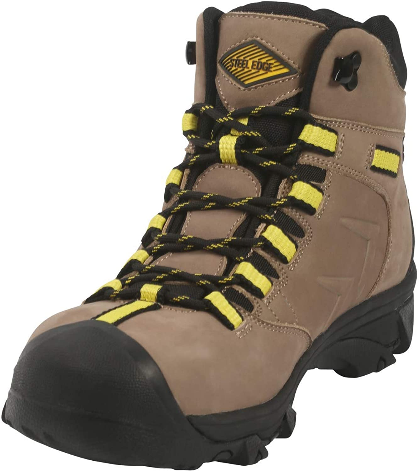 Steel Edge Mens Steel Toe Safety Shoes