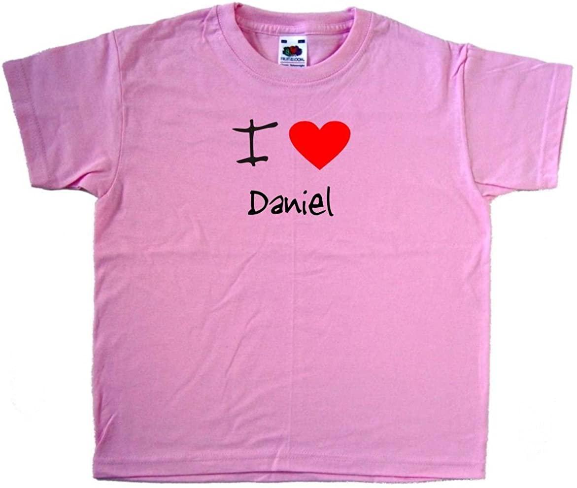 I Love Heart Daniel Pink Kids T-Shirt