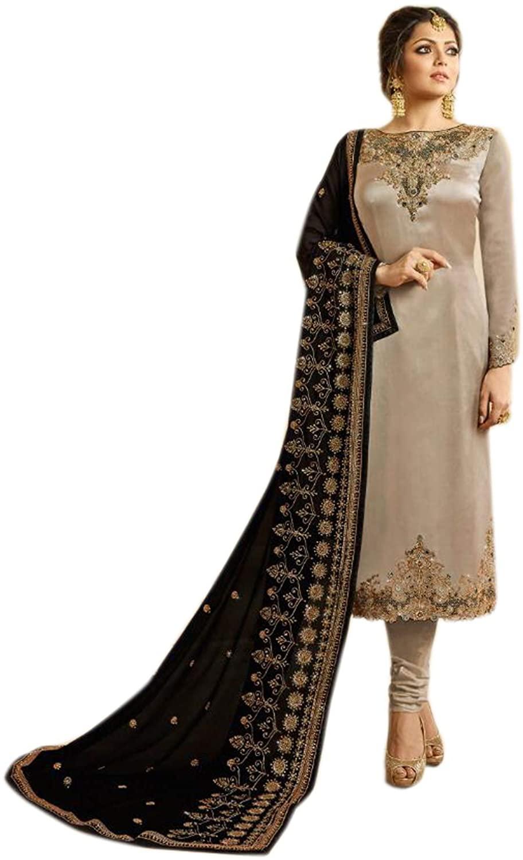 New Indian/Pakistani Designer Georgette Party/Wedding Wear Anarkali Suit (Choice 2, M-40)