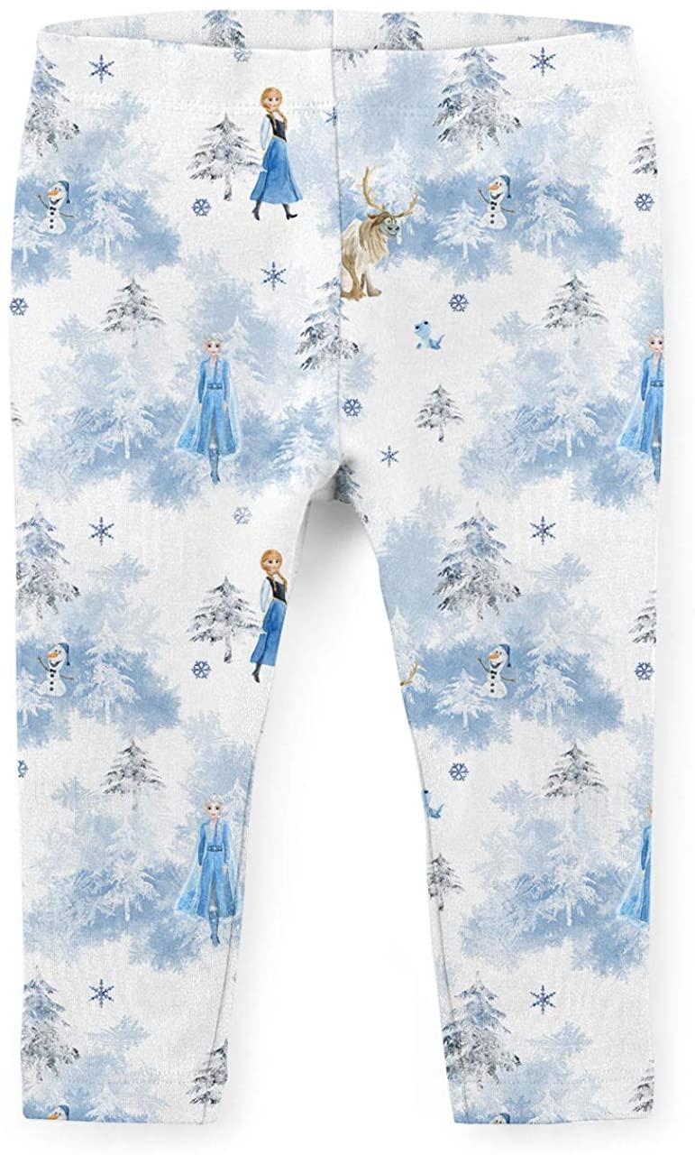 Youth Leggings - Winter Landscape Frozen 2 Disney Inspired White