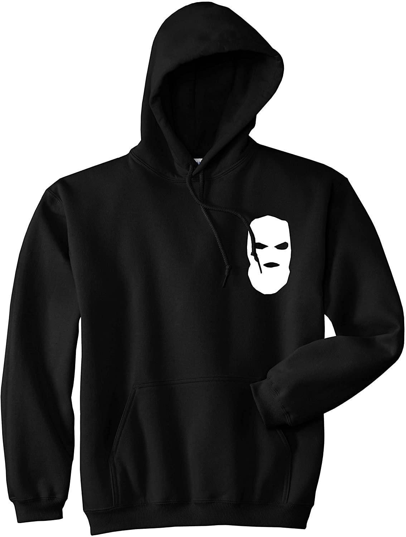 Kings Of NY Ski Mask Chest Logo New York Hood Pullover Hooded Sweatshirt Hoody