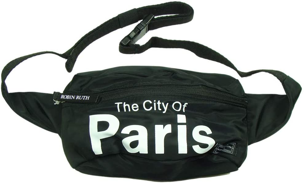 Robin Ruth 'Paris City' Waist Pack - Black