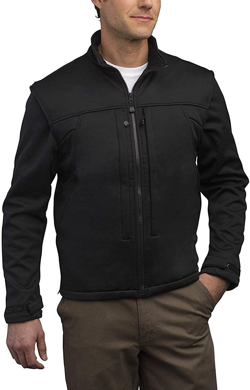 SCOTTeVEST Enforcer Concealed Carry Jacket for Men - Convertible Tactical Vest