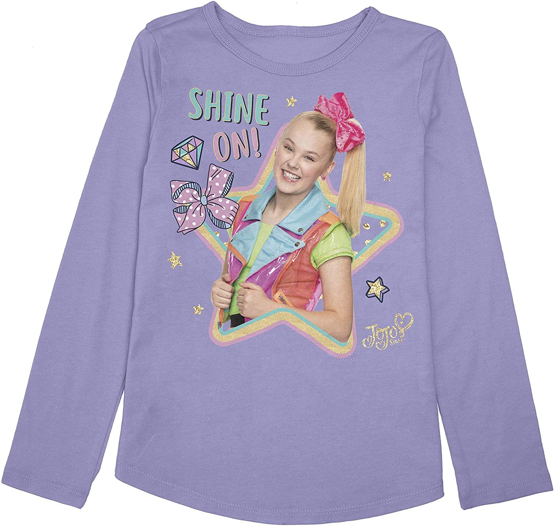 Jumping Beans Toddler Girls 2T-5T JoJo Shine On JoJo Graphic Tee