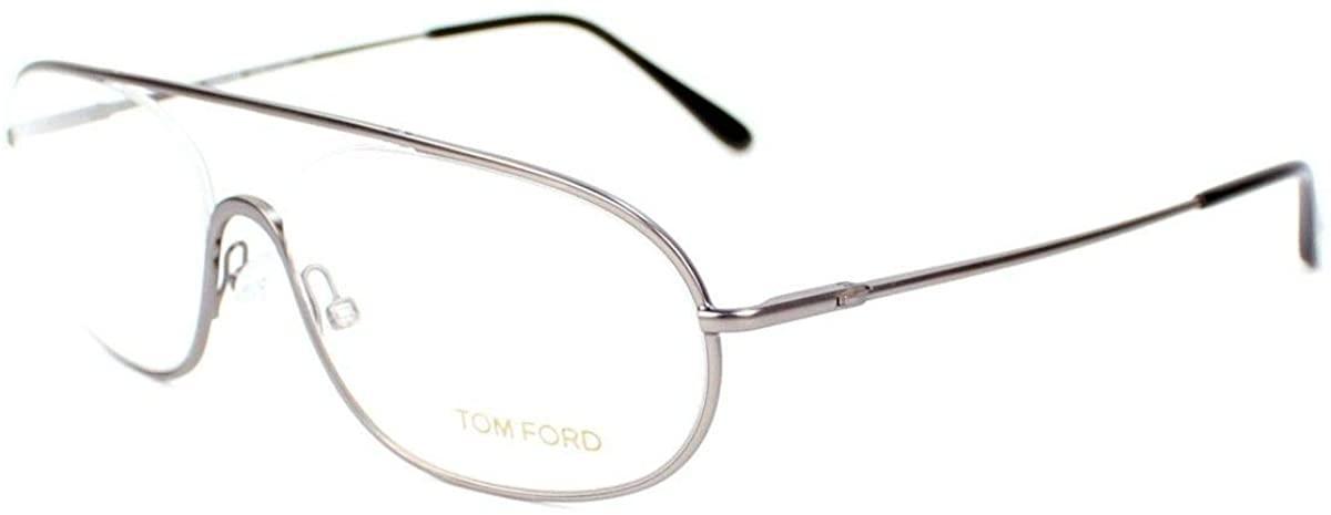 Tom Ford Unisex FT5155 Matte Ruthenium- Eyeglasses lenses 55 mm
