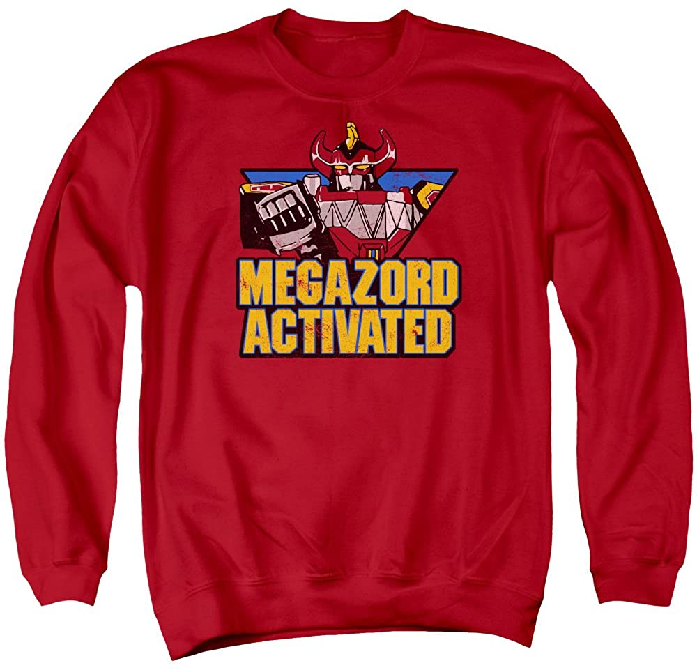 Power Rangers - Mens Megazord Activated Sweater