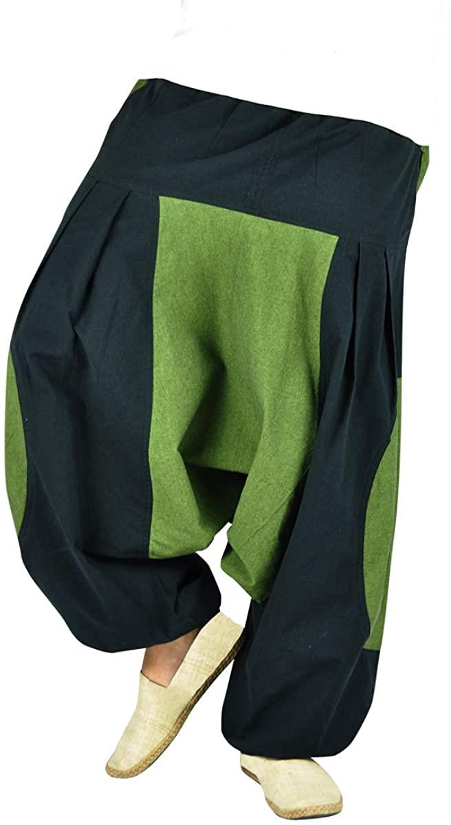 virblatt Harem Pants Men and Women Aladdin Pants as Alternative Clothing – Elemente