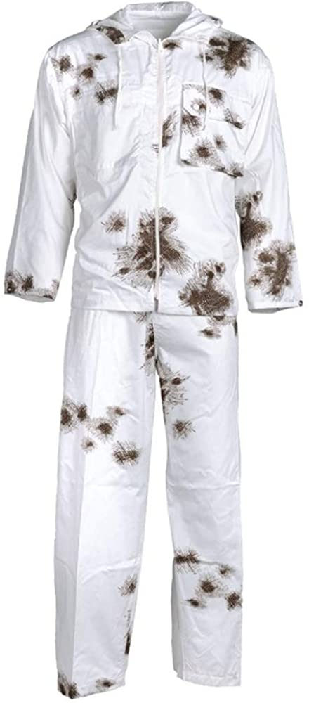 Mil-Tec Poly/Cotton Snow Camo Suit