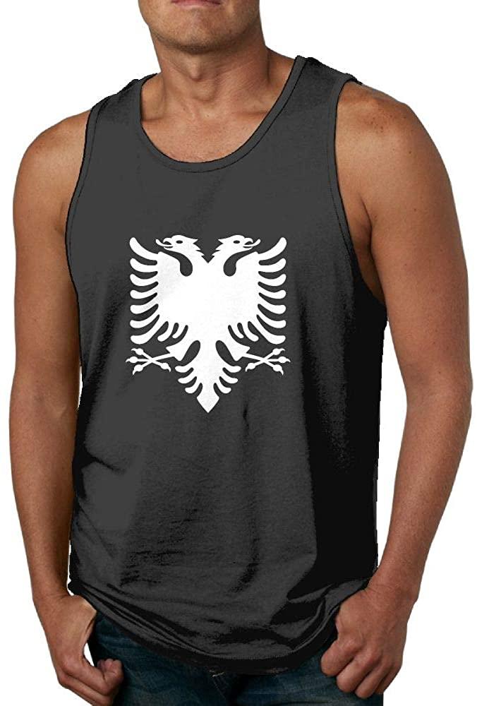 Men's Tank Top Albanian Eagle Sleeveless Shirts Vest