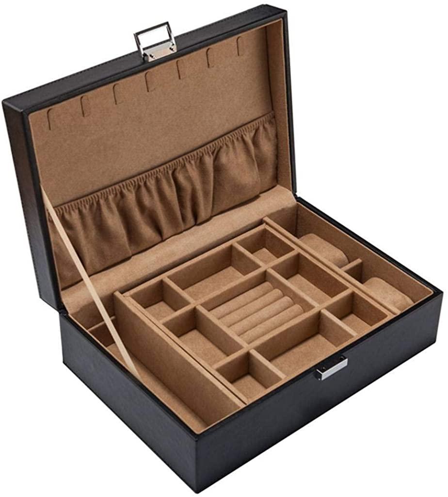 Leather Watch Box, Jewelry Storage Organizer Women Watch Organizer Watch Holder Great for Gift Collection Decorative