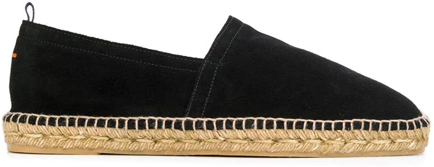 Castaner Luxury Fashion Man PABLOT100 Black Fabric Espadrilles | Spring Summer 20