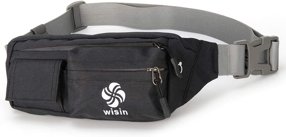Fanny Pack for Men & Women Cute Waist Bag with Adjustable Belt Water Resistant,Headphone Jack Design