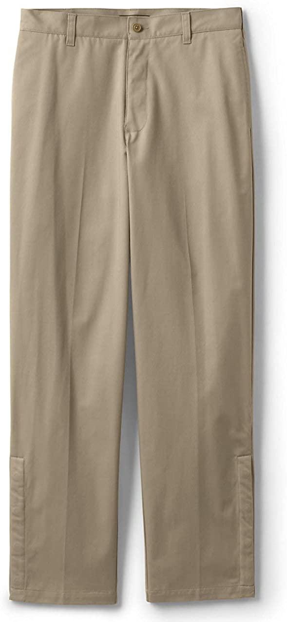 Lands' End School Uniform Men's Adaptive Blend Chino Pants