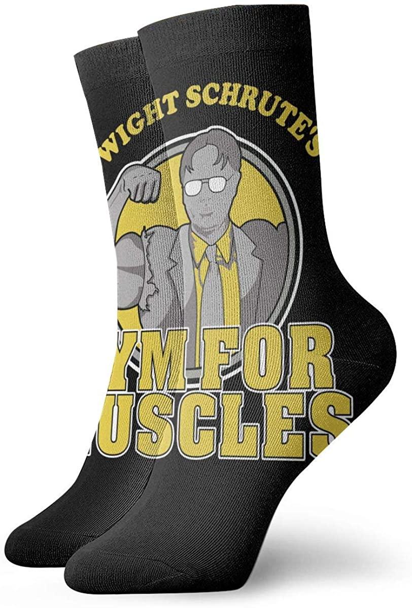 Dwight Schrute'S Magic Gathering Socks, High Ankle Socks Halloween Socks