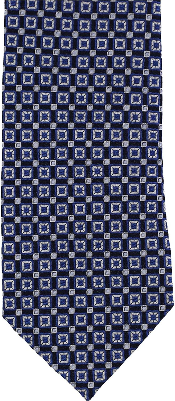 Bloomingdales Mens Geometric Self-Tied Necktie