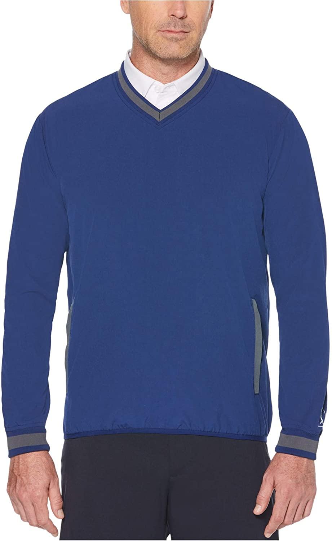 PGA TOUR Mens Repelflux Pullover Sweater