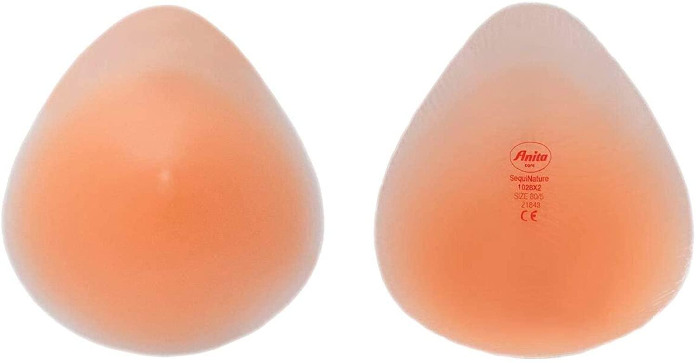 Anita Care Womens SequiNature Compensation Breast Form Bilateral Teardrop