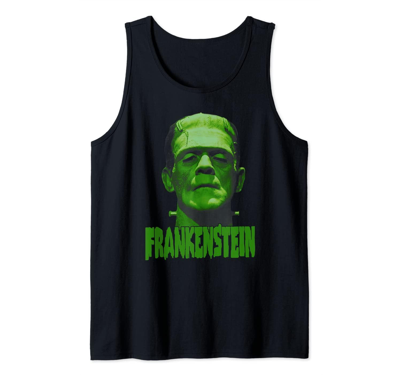Universal Monsters Frankenstein Dark Portrait Tank Top