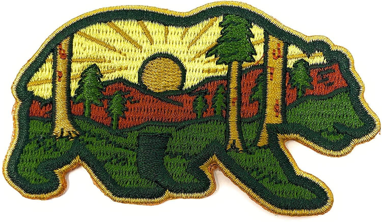 O'Houlihans - Mountain Forest Bear Hook Patch