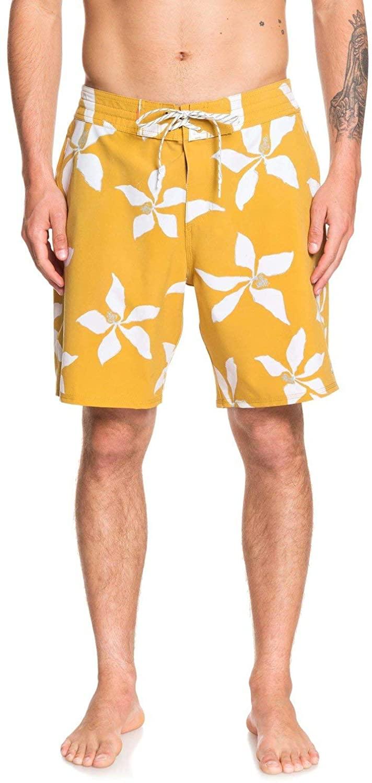 Quiksilver Men's Falling Blossom Boardshort 19 Swim Trunk