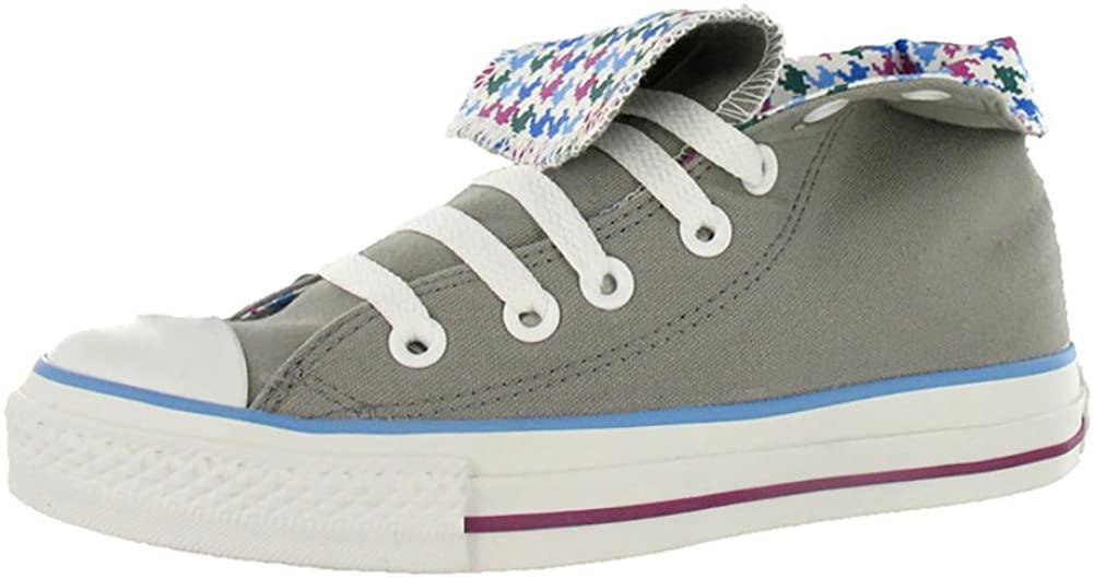 Converse Men's Chuck Taylor All Star Roll Down Hi High-Top Canvas Fashion Sneaker