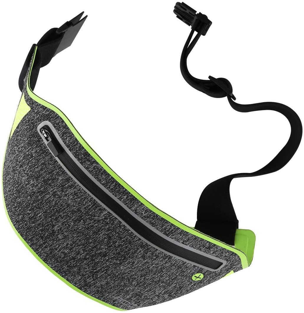 ROCK Slim Sport Waist Belt, Ultra Light Bounce Free Anti-Sweat Pouch Belt Bag