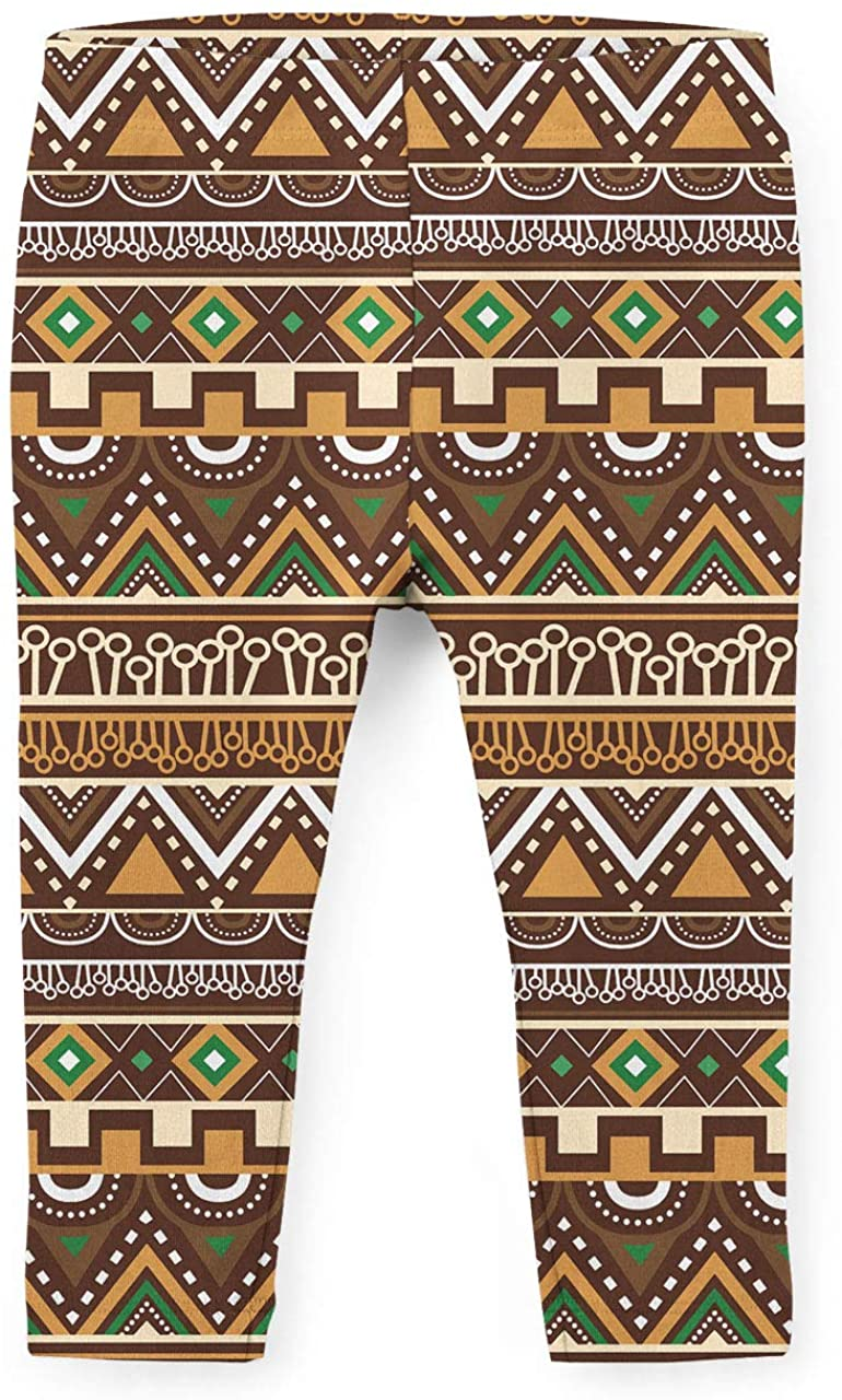 Youth Leggings - Lion King Inspired African Tribals Disney Brown