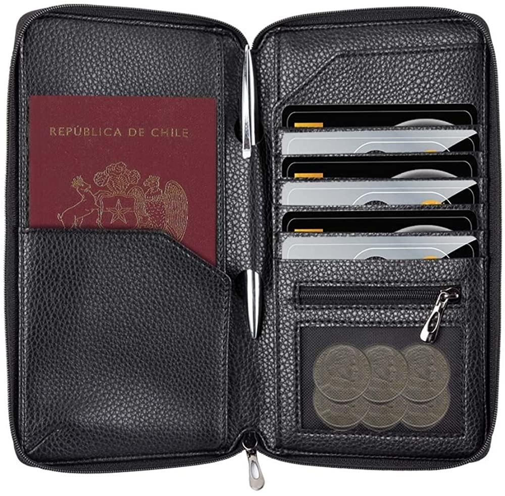 InventCase PU Leather Passport Case Cover for Chile / Chilean Passports