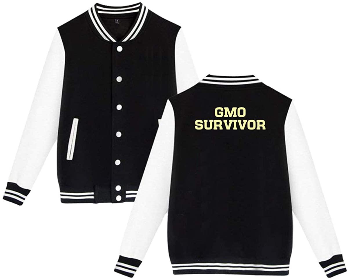 1763 GMO Survivor Unisex Baseball Jacket Varsity Jacket