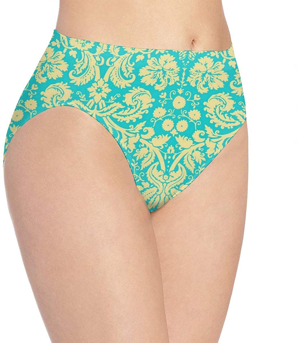 BEASDEN Women's Bikini Whales Dream Angel Seamless Panties Personalized Briefs for Lady/Girls