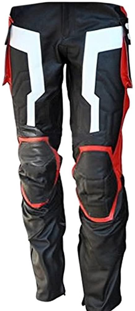 Classyak Men's Fashion Ultron Real Leather Motorbike Pant