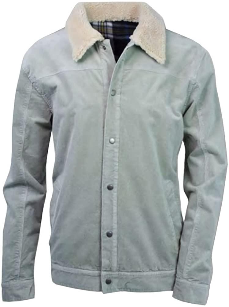 Purnell Corduroy Jacket - Men's, Ice Grey, Medium, 10104639-646-M