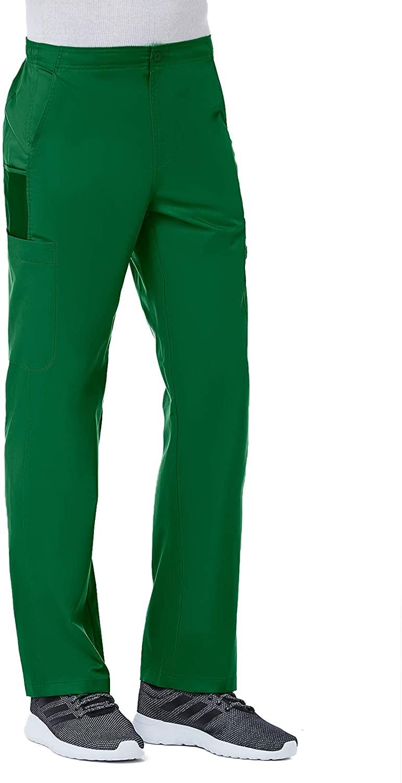 Maevn Men's EON Half Elastic 8-Pocket Cargo Pant(Hunter, Large Petite)