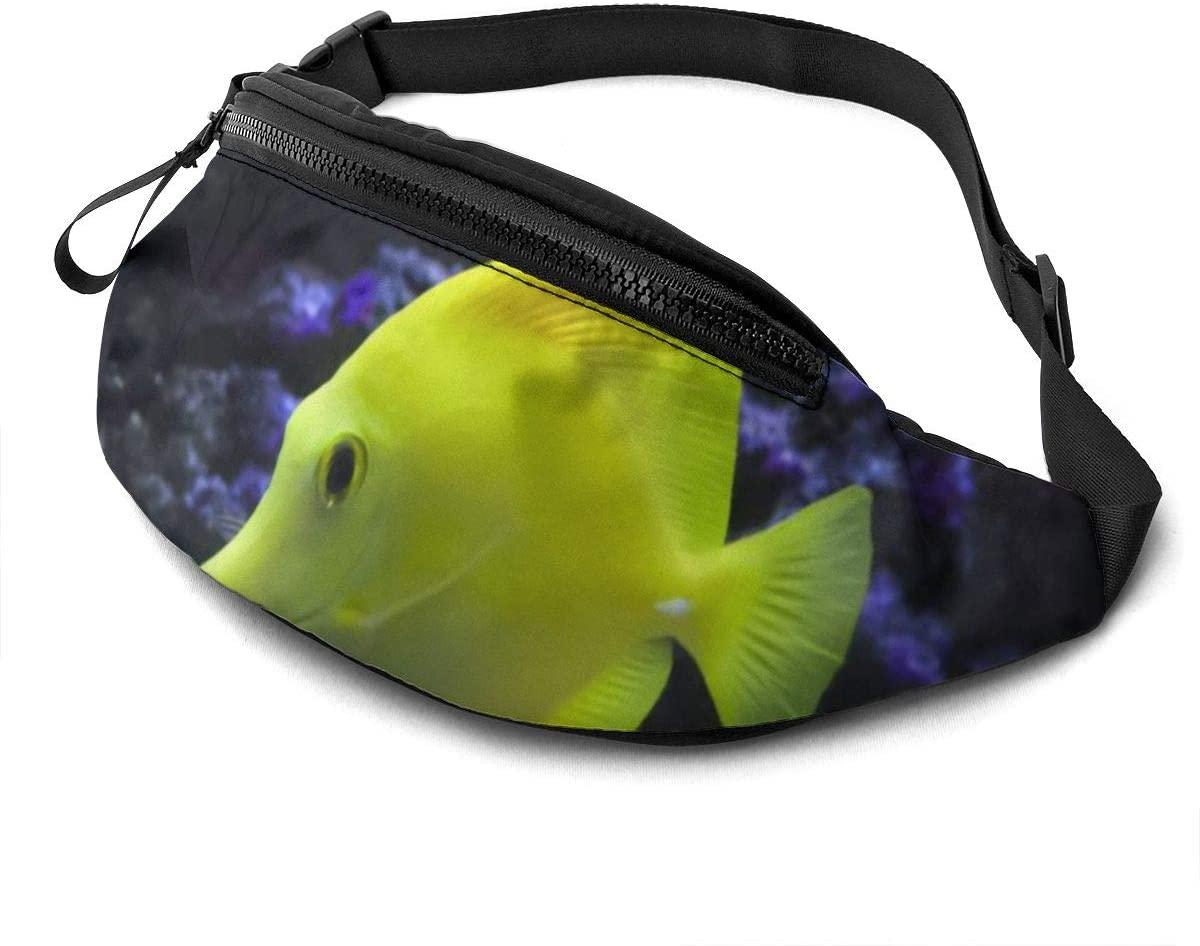 Hawaii's Tropical Fish Fashion Casual Waist Bag Fanny Pack Travel Bum Bags Running Pocket For Men Women