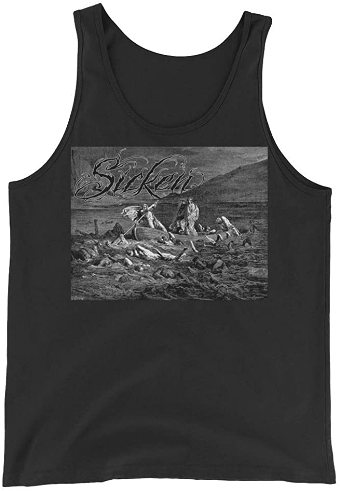 Sicken Clothing Capsized Mens Tank by Gustave Dore Black