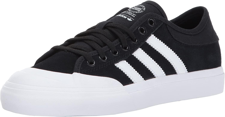 adidas  Boys' Matchcourt J Skate Shoe, Medium Solid Grey/Black/White, 6.5 Medium US Big Kid