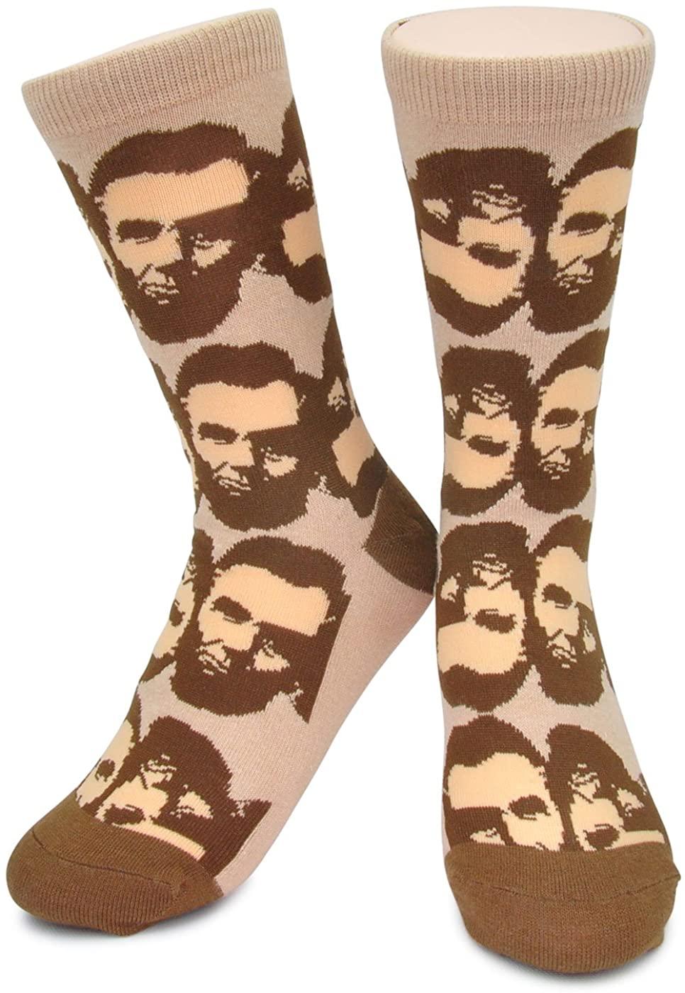 Abraham Lincoln Socks - Funky Novelty Funny Abe Presidential Socks boys kids mens