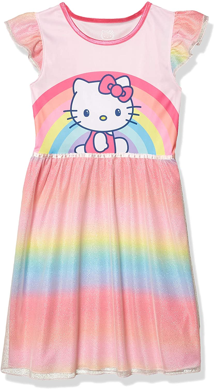 Hello Kitty Girls' Dressy Nightgown