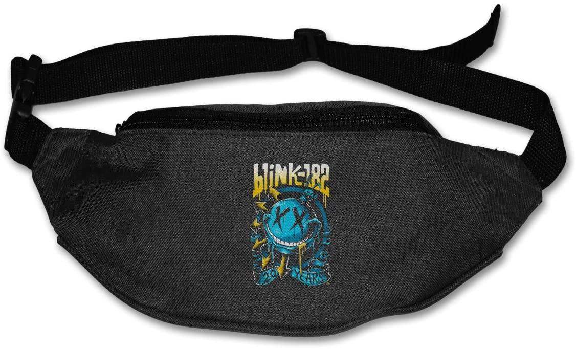Luomingg Blink 182 EU Deck Purse Belt Bag Runner's Waist Pack