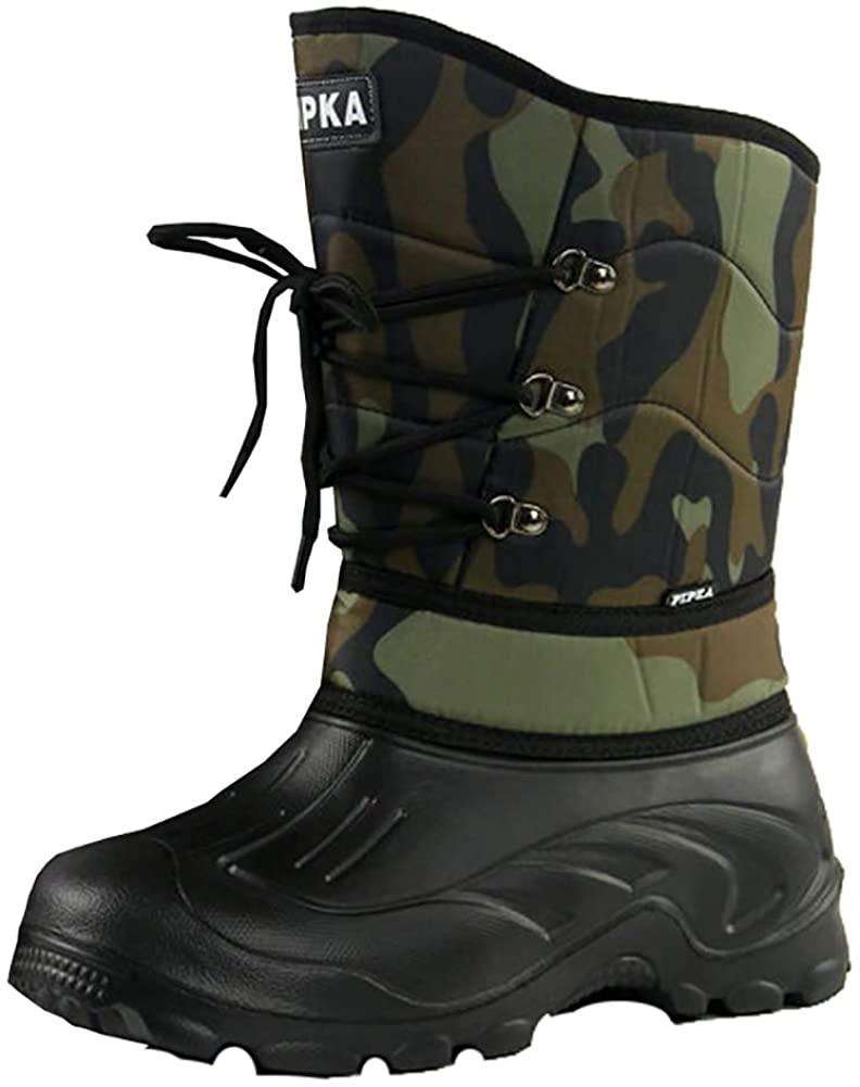 Icegrey Men's Winter Warm Snow Boots