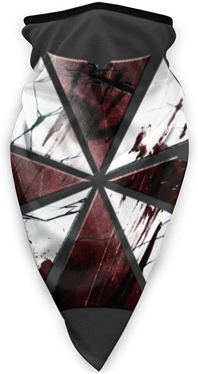 Umbrella Corp Broken Logo Resident Evil Face Mask Bandanas For Dust, Outdoors, Festivals, Sports