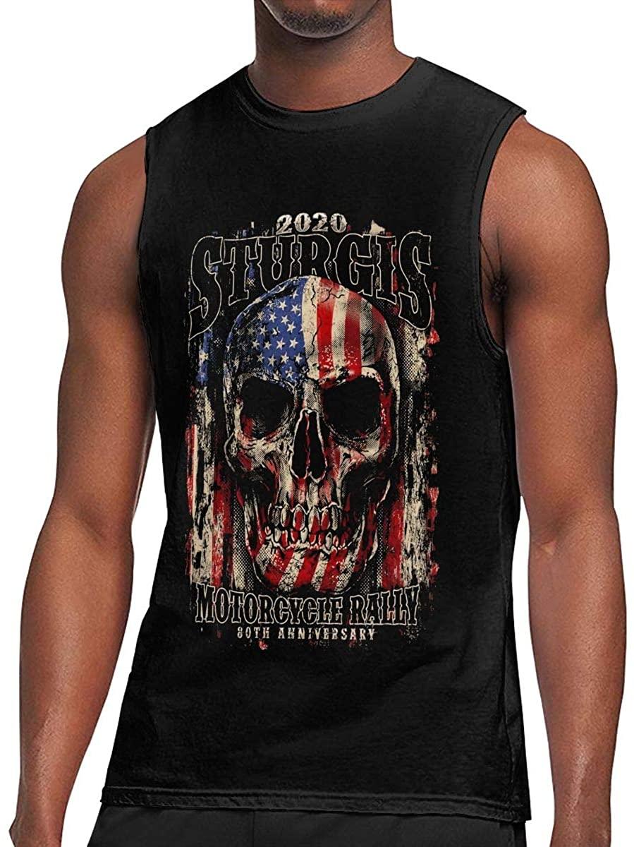 2020 Sturgis Motorcycle Rally T Shirt Man Ultra Cotton Tee Sleeveless T Shirt Fashion Top Tank Top Tee