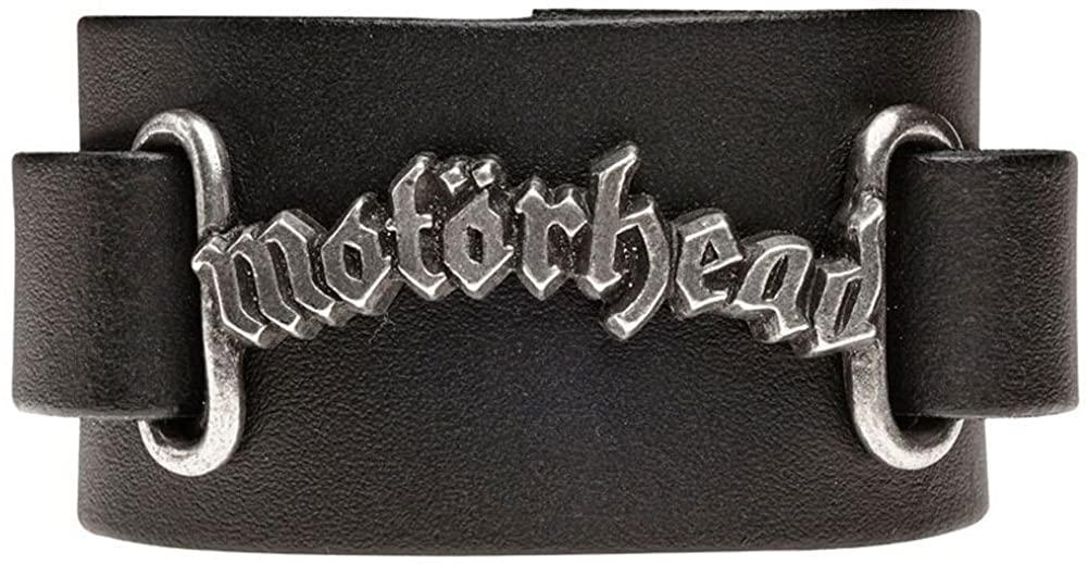 Black Motorhead Logo Wristband