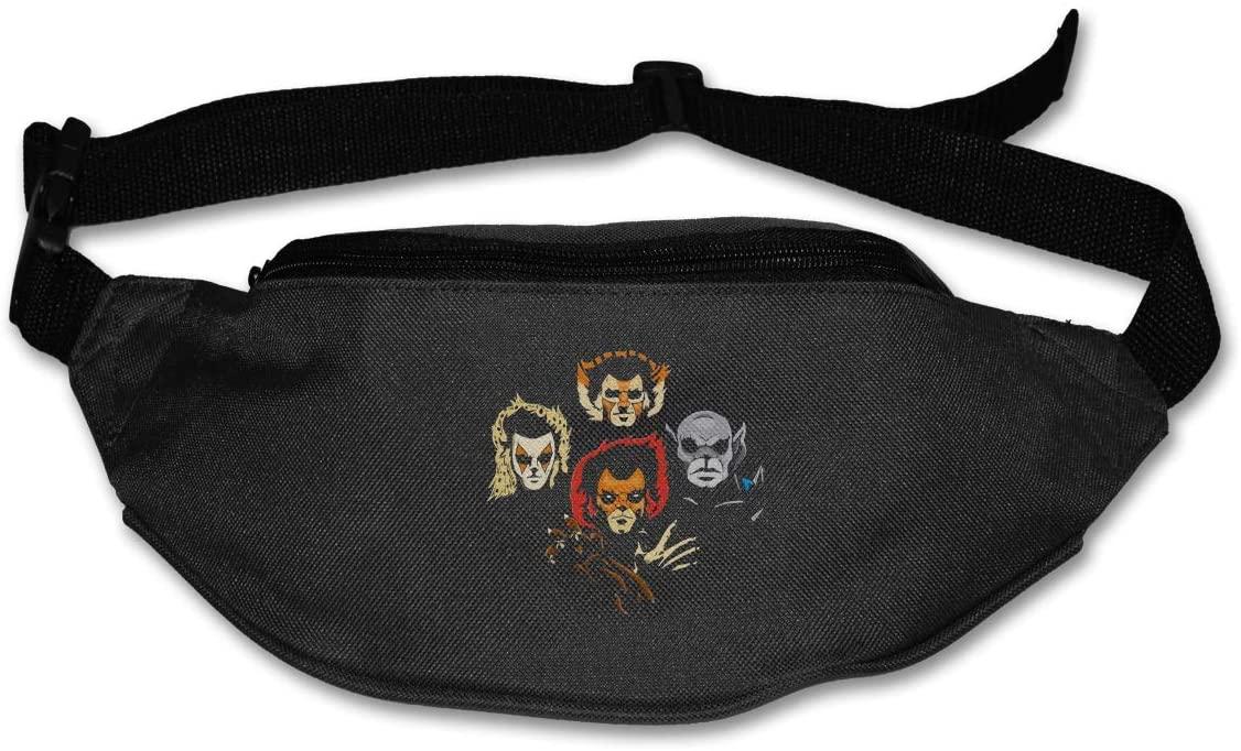 Edgergery Thundercats Runner's Waist Pack Purse Belt Bag