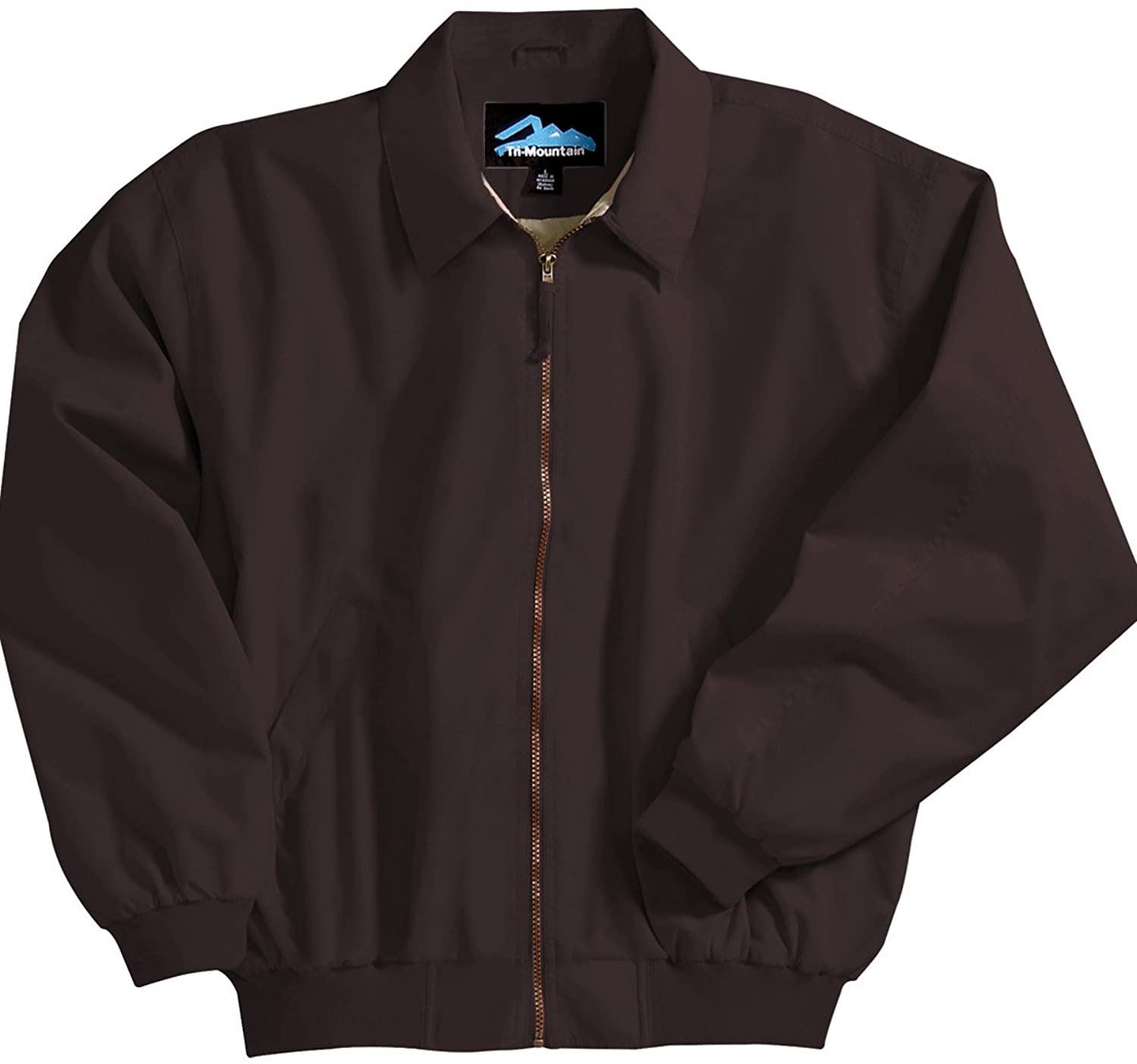 Achiever Microfiber Jacket with Poplin Lining, Color: Midnight Charcoal, Size: X-Large
