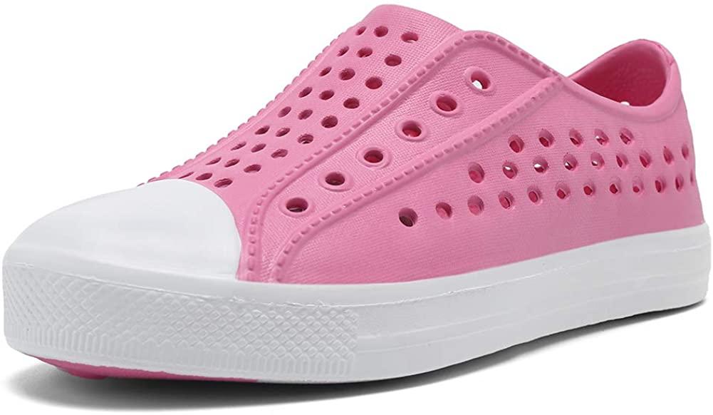 seannel Kids Sandal Water Shoes Slip-On Sneaker LightweightBreathable Outdoor & Indoor-U819STLXS001-05-Pink-28