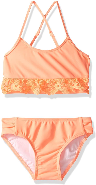Seafolly Girls' Little Sweet Summer Tankini