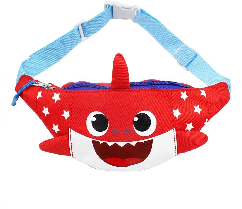 Kids Fanny Pack Cartoon Unicorn Purse Waist Pack Belt Bum Bag for Sports Hiking Running