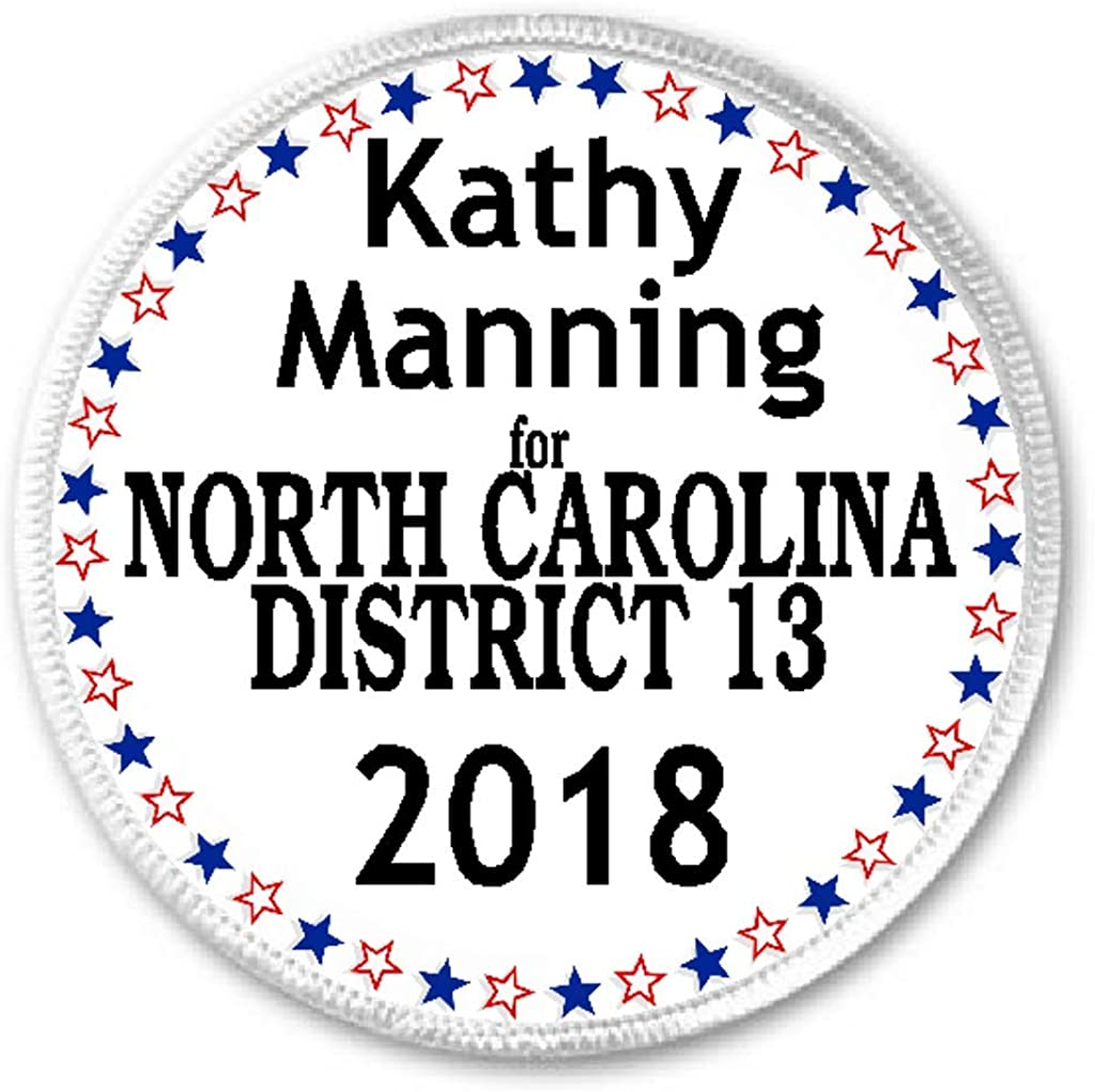 Kathy Manning North Carolina District 13 2018-3 Sew/Iron On Patch Election