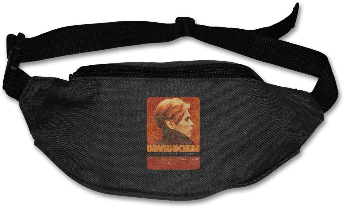 Edgergery David Bowie Stage Tour Berlin '78 Runner's Waist Pack Purse Belt Bag
